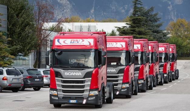 DN Logistica ordina cento camion a gas